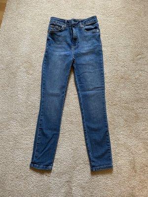 ASOS DESIGN Skinny jeans donkerblauw-blauw