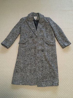 ASOS DESIGN Manteau oversized noir-blanc