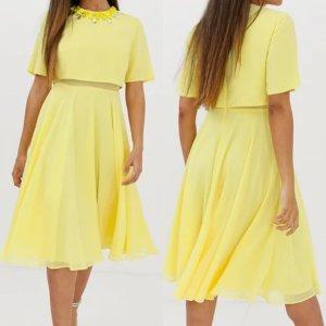 ASOS DESIGN Petite Midi Dress multicolored