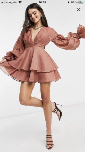 ASOS DESIGN Mini Dress multicolored polyester