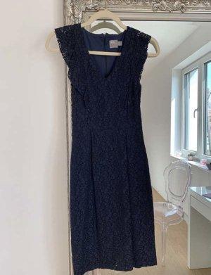 Asos Suknia wieczorowa ciemnoniebieski
