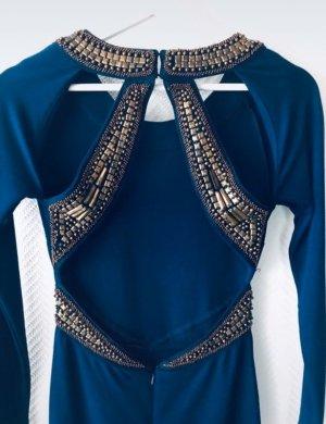 Asos Robe courte bleu-doré