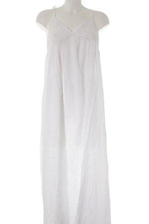 Asos Empirekleid weiß-wollweiß