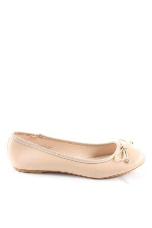 Asos Foldable Ballet Flats cream casual look