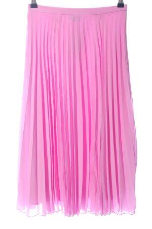 Asos Faltenrock pink Casual-Look