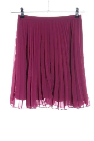 Asos Plaid Skirt pink polyester