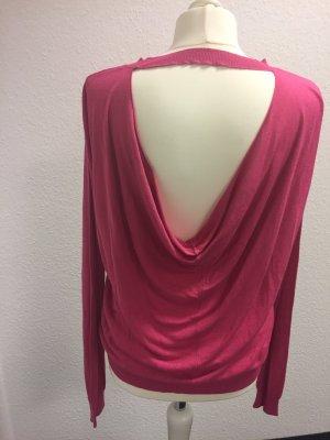 Asos Maglione rosa-rosso lampone Viscosa