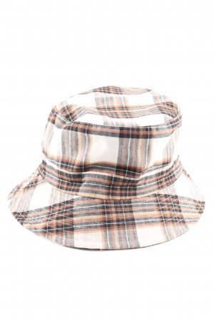 Asos Bucket Hat check pattern casual look