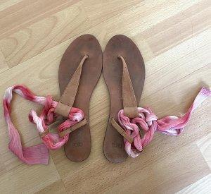 Asos flache Sandalen rosa 40