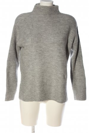 Asos Szydełkowany sweter jasnoszary Melanżowy W stylu casual