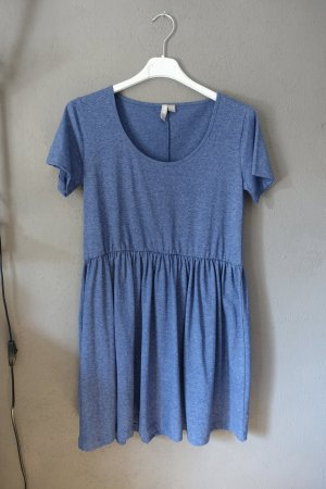 Asos Hängerchen, Jeansblau, blau, meliert, Kleid, Jerseykleid, sehr süß, Basic, ungetragen