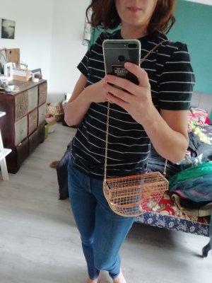 Asos Handtasche Metall Gitter Korb
