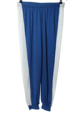 Asos Pantalón estilo Harem gris claro-azul look casual