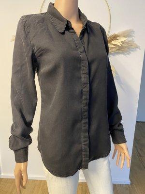 Asos Koszula z długim rękawem antracyt