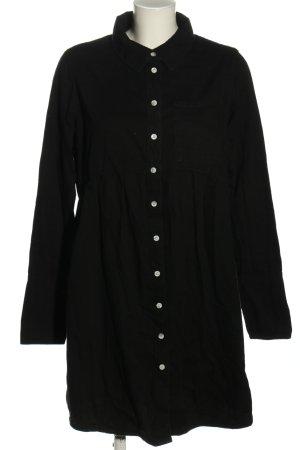 Asos Koszulowa sukienka czarny W stylu casual