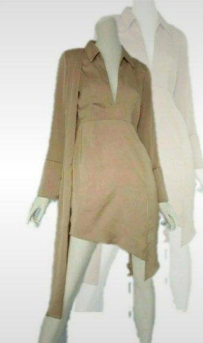ASOS DESIGN Shirtwaist dress gold-colored-beige