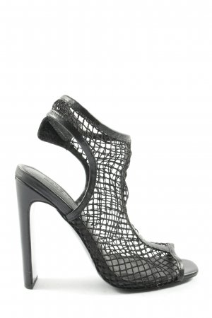 Asos High Heel Sandaletten schwarz Casual-Look