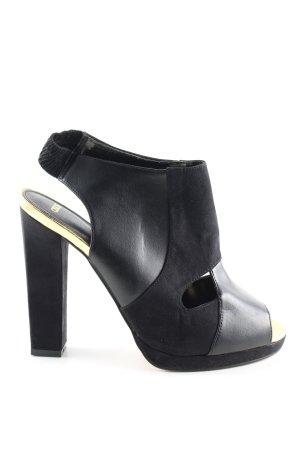 Asos High Heel Sandaletten schwarz extravaganter Stil