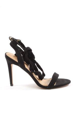 Asos High Heel Sandaletten schwarz Casual-Look