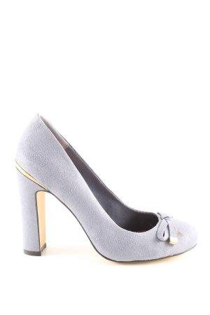 Asos High Heels hellgrau Business-Look
