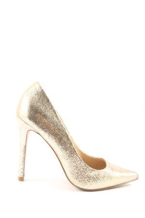 Asos High Heels goldfarben Elegant