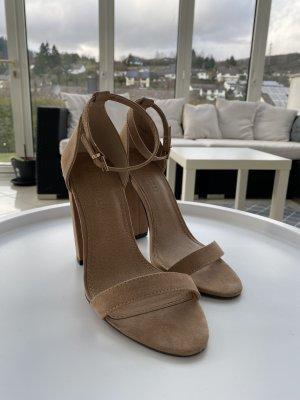 ASOS High Heels beige Gr. 36