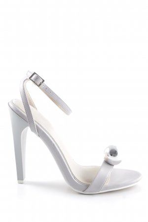 Asos High Heels grau-blasslila Elegant