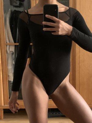 Asos Długi top czarny