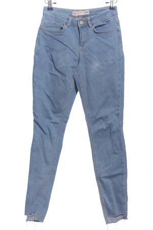 Asos Pantalon taille haute bleu style décontracté