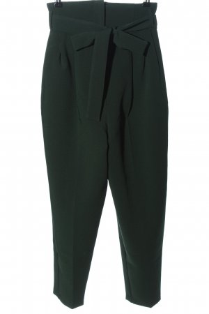 Asos High Waist Trousers green business style