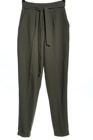 Asos High-Waist Hose khaki Business-Look