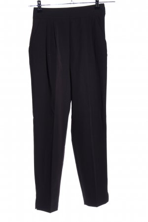 Asos High-Waist Hose schwarz Business-Look