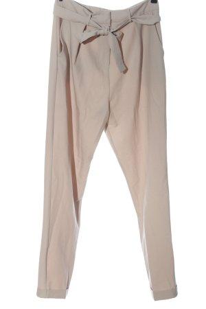 Asos Pantalone a vita alta crema stile casual