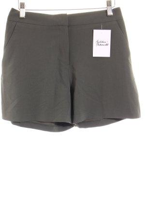 Asos High-Waist Hose khaki Street-Fashion-Look