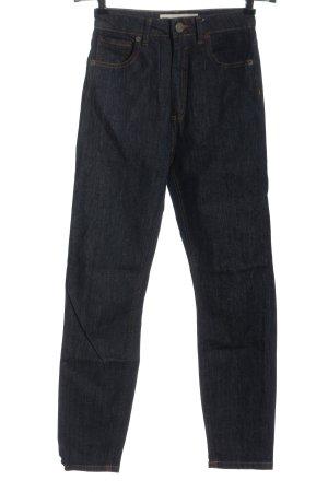Asos High Waist Jeans blau Casual-Look