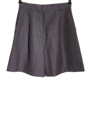 Asos Pantalón corto de talle alto gris claro-lila look casual