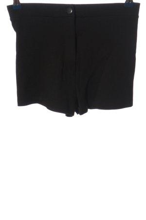 Asos High-Waist-Shorts schwarz Casual-Look