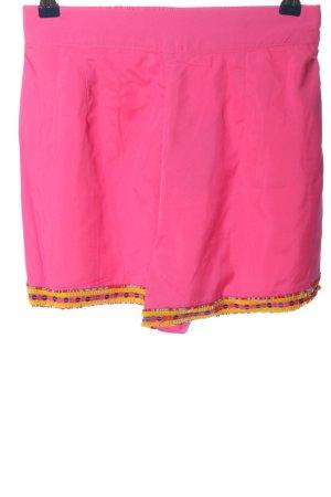 Asos High-Waist-Shorts pink-hellorange Casual-Look
