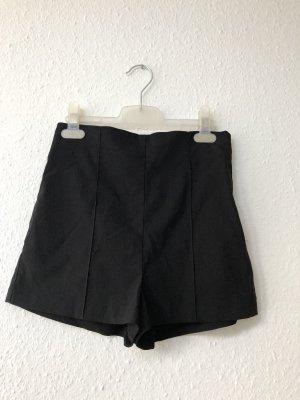 Asos Short taille haute noir