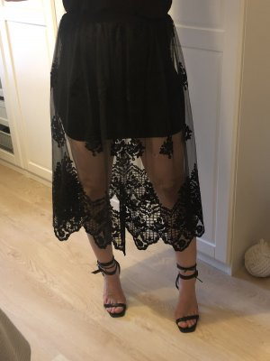 ASOS DESIGN Jupe taille haute noir