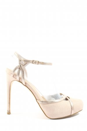 Asos High-Front Pumps cream casual look