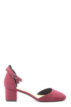Asos Pumps met hoge zool roze casual uitstraling