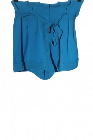 Asos Hot Pants blau Casual-Look