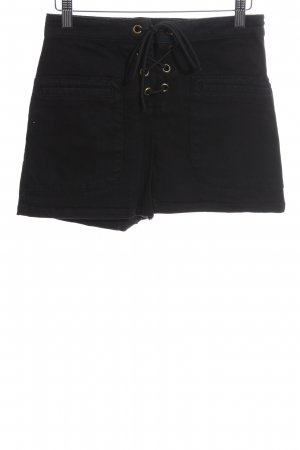 Asos Hot Pants schwarz Casual-Look