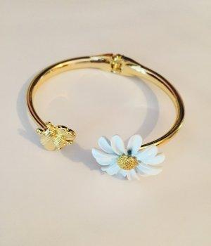 Asos Bracelet de bras doré-blanc