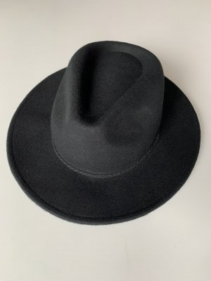 ASOS Hut Filz schwarz Panamahut