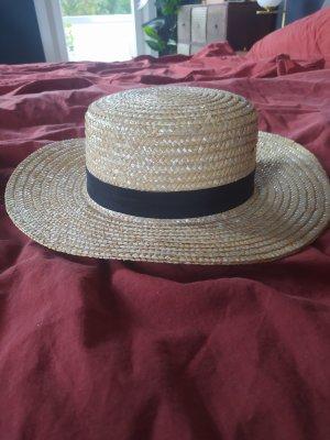 ASOS DESIGN Straw Hat black-beige