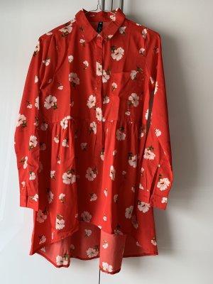 ASOS Influence Damen Hemd/Kleid Rot Gr.36/S/8