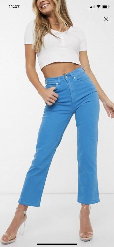 Asos Jeans blau Xxs