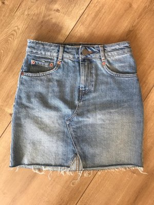 Asos Jeans Rock High Waist
